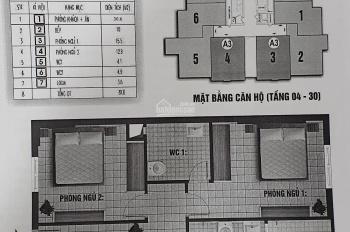 Chính chủ bán căn hộ 2 ngủ, 81,6m2, giá 1tỷ4. 0943303296