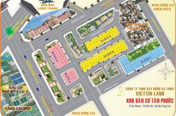 Còn lại 5 lô đất đẹp vị trí vàng tại trung tâm TX. Phú Mỹ, BTVT, giá 8tr/m2 SHR từng nền