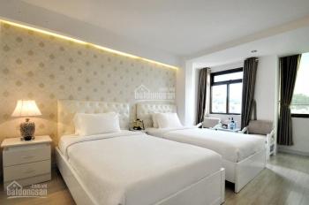 Bán khách sạn Trương Định, Bến Thành, Q1. DT: 7x17m, hầm 7 tầng, 22P, giá 37 tỷ. LH: 0925288699
