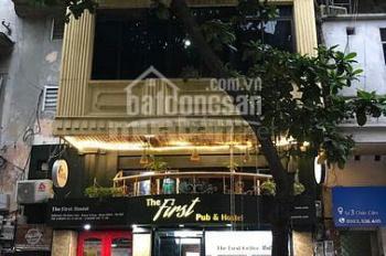 Cho thuê nhà mặt phố Hàn Thuyên - Hai Bà Trưng: Nhà 5 tầng, diện tích sử dụng 360m2, mặt tiền 6.8m
