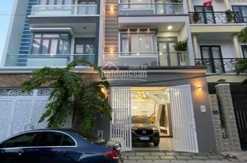 Nhà phố 04 tầng DT 5,5x15m, tặng nội thất, đường 08m, cổng bảo vệ 24/24
