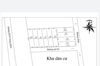 Công ty bất động sản Chiến Đặng bán đất xã An Viễn, gần KCN Giang Điền, giá chỉ 350 triệu
