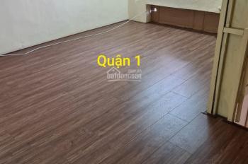 Cho thuê nhà hẻm chung cư tầng 1, đường Tôn Thất Đạm chợ cũ, DT 64m2, 1 trệt 1 lửng. LH 0938546951