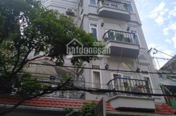 Bán nhà MT đường Lam Sơn, P, 2, khu sân bay, Quận Tân Bình, 5x16m, trệt, 4 lầu, 19 tỷ, 0938410456