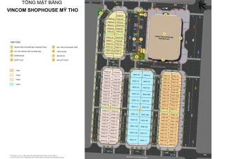 Cần bán căn PG03-X view TTTM Vincom Shophouse Mỹ Tho, giá tốt nhất thị trường