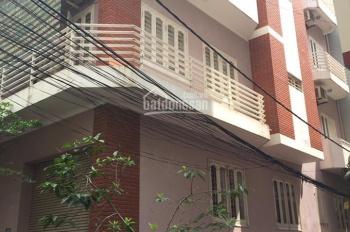 Cho thuê nhà riêng Hoàng Ngân, Trung Hòa, căn góc 2 mặt đường, 70m2 x 5 tầng