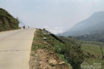 Bán đất Sapa xã Tả Van 50m mặt đường, 1200m2 sổ đỏ có 100m2 đất ở. Đất đẹp