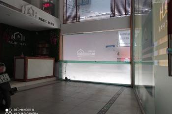 Cho thuê mặt bằng tầng 1 mặt ngõ 186 Trần Duy Hưng, DT 40m2 riêng biệt
