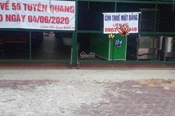 Cho thuê mặt bằng đường Đào Tấn, TP Phan Thiết