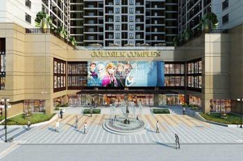 Cho thuê các căn hộ 2 - 4 phòng ngủ khu GoldSilk Complex - Vạn Phúc - Hà Đông