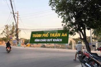 Đất nền CC Quốc Lộ 13, TP Thuận An, ngay chợ Hài Mỹ, giá 850tr/nền, CK 1 cây vàng cho 10 KH đầu