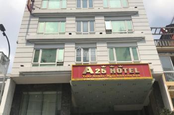 Cho thuê building mặt tiền Hai Bà Trưng, P. Tân Định, Quận 1, DT: 8,5x20m, trệt + 8 tầng thang máy