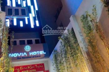 Cho thuê khách sạn MT Nguyễn Văn Thủ, Đa Kao, q1 4,2x22m 6 tầng. Giá 75 tr/tháng