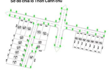 Lô góc duy nhất 114,4m2 - cạnh khu tái định cư Bình Yên - 8,6tr/m2 - LH 0977503268