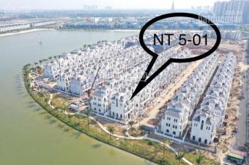 Cần bán nhanh biệt thự mặt hồ Ngọc Trai 5 - 01 giá cắt lỗ 15 tỷ