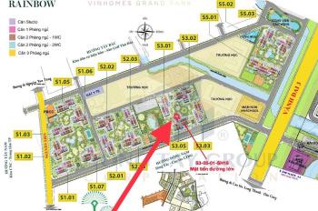 Chính chủ cần bán căn Shophouse Grand Park Quận 9 Tháng 6 này bàn giao