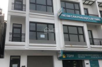 Cho thuê nhà liền kề 201 Nguyễn Tuân, Thanh Xuân, DT 100m2, 4 tầng 1 hầm, MT 6m. Giá 50tr/th