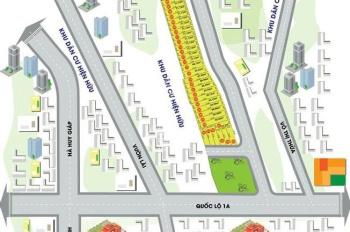 Phân phối 16 lô đất An Phú Đông Riverside, Q12 - QL1A. DT: 5x18m, giá: 22tr/m2. 0356374740