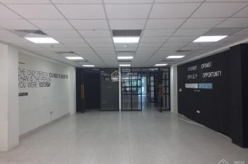 Cho thuê sàn thương mại + văn phòng tầng 2 mặt Phố Huế, diện tích 230m2, mặt tiền tòa nhà 13m