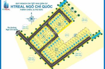 Bán đất nền đường Ngô Chí Quốc, Phường Bình Chiểu, Quận Thủ Đức, giá 2,52 tỷ