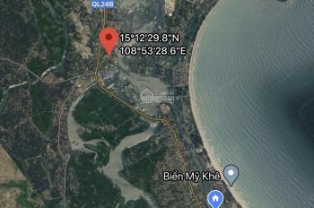 1000m2 đất biển cực đẹp, cách cảng cá Tịnh Hòa 20m, giá 2.8tr/m2 sổ hồng chính chủ, LH 0911595739
