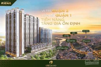 Booking ngay căn hộ trần cao GĐ 1 - Citi Grand - chỉ từ 2 tỷ 8 - 3 tỷ 5/căn 3PN. LH: 0982.007.835