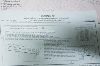 Cần bán đất sổ riêng mua bán ủy quyền, đường Phước Thắng Chi Lăng, Phường 12. Tp Vũng Tàu