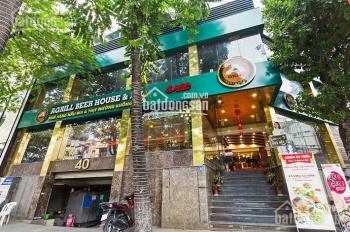Sang nhượng cafe MP Trần Đại Nghĩa, DT 55m2, 2T, mặt tiền 9m, giá thuê 60tr/th, 0977280330