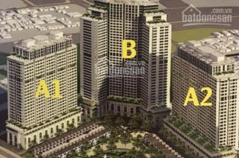 Bán shophouse, sàn thương mại chung cư IA20 Bộ Quốc Phòng - Ciputra Hà Nội - Diện tích 45m2 - 300m2