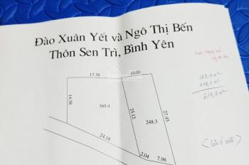Chính chủ bán lô 248m2 Bình Yên, Thạch Thất, Hà Nội