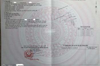 Bán nhà gần mặt tiền đường Nguyễn Cửu Phú DT 81,7m2 2 lầu 4 phòng ngủ, 2WC, SHR LH: 0368626162 Tú