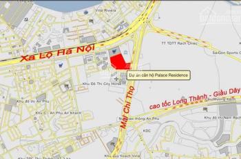 The Palace An Phú, Quận 2 bán bằng giá góc tháp B 74m2 giá 3.757 tỷ. LH 0932493939