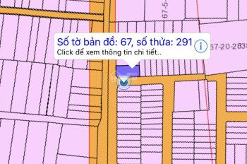 Lô góc 2 mặt tiền đường Nguyễn Hải, sau khu K. Cách đường Lê Duẩn 100m STST 67/291
