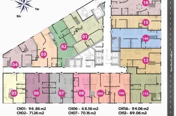 Chính chủ cần bán căn hộ chung cư Tháp Doanh Nhân tầng 1509 Dt 57m2, giá bán 1tỷ2/CH. LH 0904516638