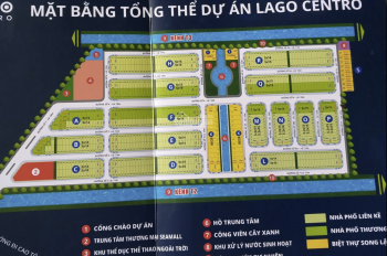 Chính chủ cần sang nhượng lô đất G11 dự án Lago Centro đã có sổ - liên hệ 0913311950