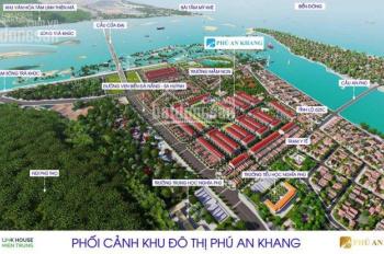Bán đất dự án Phú An Khang, ngay cầu Cửa Đại Quảng Ngãi, diện tích 110m2 giá đầu tư, 0935 552 771