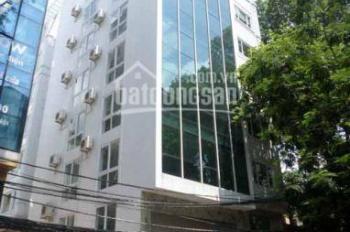 Bán tòa 9 tầng mặt phố Trung Yên, Trung Hòa. DT 120m2, MT 7m, thông sàn, cầu thang máy, giá 43.5 tỷ