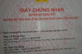Chính chủ bán căn hộ 93,6m2 view cầu vượt Trần Duy Hưng. LH 0983434334