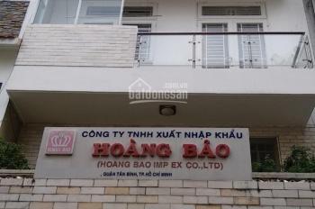 Cho thuê nhà đường Cách Mạng Tháng 8, diện tích 6x18m, 1 trệt 3 lầu