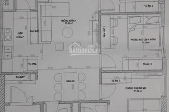 Chính chủ bán căn hộ 3 phòng ngủ dự án A10 Nam Trung Yên