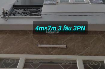 Nhà 4mx7m 3 tấm 3PN (y hình), hẻm 951/ Hương Lộ 2