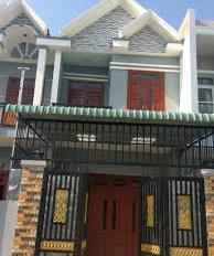 Bán căn nhà mặt tiền đường TL824 80m2, cho thuê 9tr/tháng, 4 tỷ, sổ hồng riêng