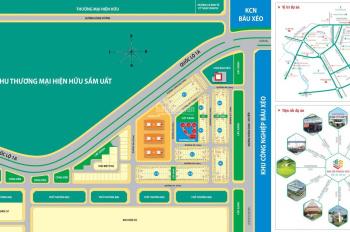 Bán đất KCN Bàu Xéo, MT Quốc Lộ 1A, Trảng Bom, giá gốc CĐT , tặng 10 - 15 chỉ vàng