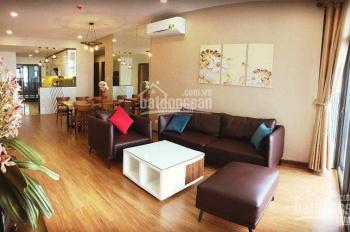 Cho thuê CHCC Mipec Tower 229 Tây Sơn 223m2, 4PN, full đồ đẹp giá 21 triệu/tháng, LH: 0986737218