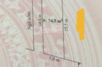 Bán lô đất đẹp ,lô góc hai mặt tiền tại Văn phong -Đồng Thái giá tốt