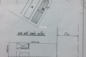 Bán mặt bằng (tầng 1) chung cư Nguyễn Thiện Thuật, phường 1, quận 3, 3.3 tỷ (còn TL)