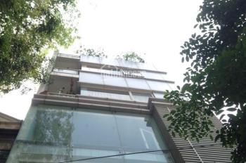 Cho thuê nhà mặt phố Bà Triệu, diện tích 150m2 x 5 tầng, mặt tiền 6m, có tầng hầm, thang máy