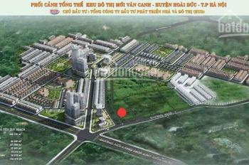 Đất DV Vân Canh khu 6.9ha, đối diện KĐT HUD, DT 68m2, MT 6.9m, đường 11m, Kinh doanh tốt, 4.6 tỷ