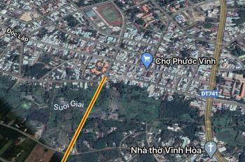 Bán gấp lô đất (15x52m), ngay ngã 3 chợ Trần Hưng Đạo và ĐH 506. Giá bán 1.2 tỷ / nền
