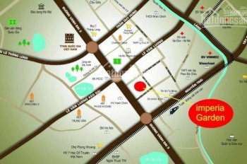 Bán sàn văn phòng 120m2, 150m2 và 300m2 chung cư Imperia Garden, ký HĐMB trực tiếp. LH 0978764669